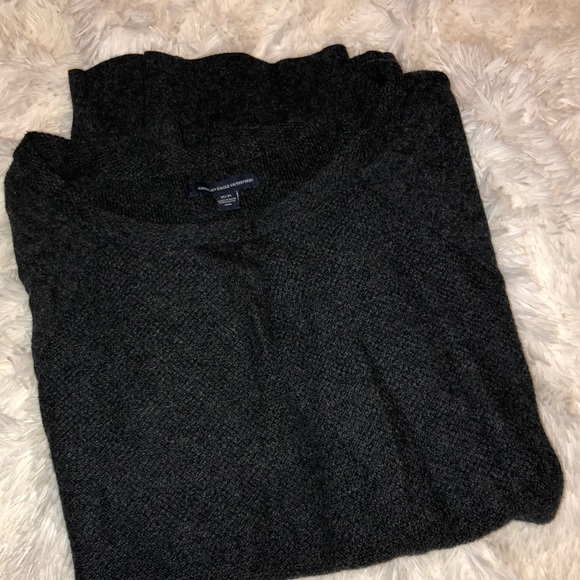 American Eagle Outfitters Sweaters - american eagle dark gray sweater